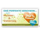 Bis zu 30% Rabatt + Gratis Versand @Gutscheinbuch.de