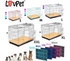 Hundetransportbox in verschiedenen Größen und Farben ab 18,90 @eBay