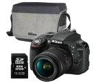 Nikon D3300 Kit AF-P mit 18-55 Objektiv und Zubehörpaket für nur 379€ inkl. Versand [idealo: ~402€] @ebay