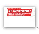 real,- 5€ Newsletter-Gutschein mit einem MBW von 39,95€ ( vorher 50€ )