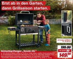tepro toronto xxl holzkohlegrillwagen f r 149 99 189 42 idealo toom baumarkt bundesweit. Black Bedroom Furniture Sets. Home Design Ideas