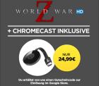 Google Chromecast 2 inkl. World War Z in HD für 23,99€ [idealo 38,90€] @Wuaki.tv
