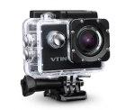 VTIN Full HD Action Kamera (WIFI, 2,0 Zoll, 1080P, 170 Weitwinkel-Objektiv, 12MP) inkl. 2 Batterien und Zubehör-Kit für 54,99 € statt 81,99 € @ Amazon