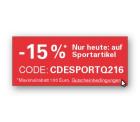 15% Rabatt auf Sportartikel per Paypal-Zahlung ( 2x anwendbar ) bei eBay, z.B.  Fixie Singlespeed Bermuda Fahrrad für 174,17 € [ Idealo 209,90 € ]
