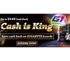 Auf GIGABYTE-Mainboards inkl. Intel CPU bis zu 145€ Cashback, z.B. auf das GA-X99-Ultra Gaming Mainboard