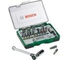 Bosch Steckschlüsselsatz metrisch 1/4 (6.3 mm) 27teilig für 12,99 € (18,98 € Idealo) @eBay