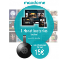 Google Chromecast 2 mit Gutscheincode für 15 € (37,95 € Idealo) + 1 Monat Maxdome @Modeo