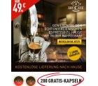 Kapselmaschine für 49,90€ kaufen und 200 Kapseln im Wert von 59€ dazu bekommen @italianartcafe.de