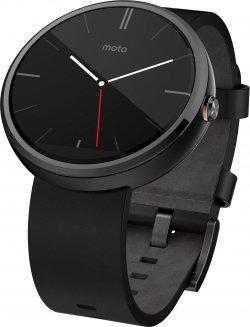 Rebuy: Motorola Moto 360 Smartwatch (Neuwertiges Gerät: Keine Gebrauchsspuren) für nur 119,99 Euro statt 213,38 Euro bei Idealo