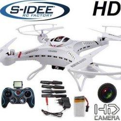 s-idee 01251 Quadrocopter S183C HD Kamera mit Gyroscope Technik  für 66,93€ [idealo 154,99€] @ Amazon