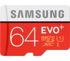SAMSUNG EVO+ Micro-SDXC 64 GB für 12 € (17,99 € Idealo) @Media Markt