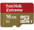 SANDISK Extreme PLUS Micro-SDHC 16GB Speicherkarte für 7,99 € (14,95 € Idealo) @Saturn