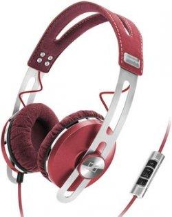 Sennheiser Momentum On-Ear (rot) für ca. 74,72€ inkl. Versand [idealo 128,57€] @Amazon.co.uk
