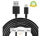 3m Lightning Kabel für iPhone, iPad statt 6,99€ für nur 3,57€ dank Gutscheincode @Amazon