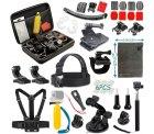 Amazon: Vanwalk 16 in 1 Zubehör Kit für Actioncam mit Gutschein für nur 16,99 Euro statt 28,99 Euro