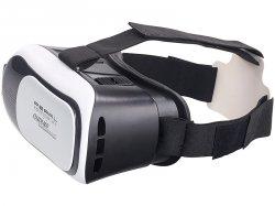 auvisio Virtual-Reality-Brille 3D für Smartphones (3,5 Zoll – 6,0 Zoll) für 0,90 € statt 39,90 € @Pearl