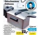 @conrad: Kaltzonen Fritteuse 2100 W Edelstahl nur 22,-€ versandkostenfrei (Idealo: 39,99€)