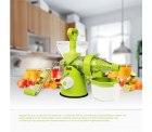 Fruchtentsafter Obstpresse Gemüsepresse Grün für 6,99 € (12,08 € Idealo)
