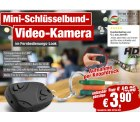 @pearl: Schlüsselbund-Videokamera 720×480 für 3,90€ zzgl. 4,90€ Versand