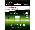 Toshiba High Speed Professional SDXC 64GB Class 10 für 12 € (20,58 € Idealo) @Amazon und MediaMarkt