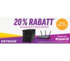20% Rabatt auf ausgewählte Netgear Produkte @ Notebooksbilliger