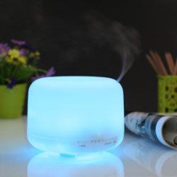 Amazon: Deckey Aroma Diffuser 500ml Ultraschall Nebel Luftbefeuchter mit Farbwechsel mit Gutschein für nur 8,99 Euro statt 14,99 Euro