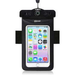 Amazon: Viewee Wasserdichte Tasche für Smartphones mit Gutschein für nur 3,99 Euro statt 7,99 Euro