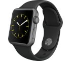 Apple Watch Sport 38mm Space Grau für 199 € (243,99 € Idealo) @Telekom-Shop