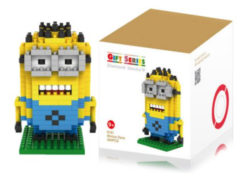 everbuying.net: Minion Building Block – Minion Figur aus 260 Teilen für 3,05€