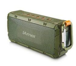 Outdoor Bluetooth Lautsprecher mit Freisprecheinrichtung durch Gutscheincode für 27,99 € statt 39,99 € @Amazon