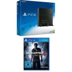 SonyPlayStation 4 Konsole mit 500GB + Uncharted 4: A Thief's End für 269,97€ [idealo 284,95€] @Amazon