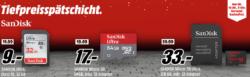 Speichermedien in der Tiefpreisspätschicht bis Montag (alles versandkostenfrei) @Media Markt