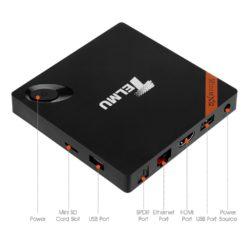 Telmu Smart Mini MXQ Android TV Box mit Gutscheincode für 21,99 € statt 39,99 € @Amazon