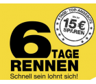 6-Tage-Rennen mit täglich neuen Angeboten + bis zu 15 € Rabatt mit Gutscheincode auf das gesamte Sortiment (online und lokal) @Galeria Kaufhof