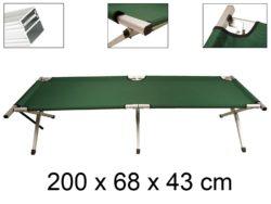 Amazon: Abbey Camp Campingbett Liege Aluminium XL für nur 9,49 Euro + 5,90 Euro VSK statt 45,85 Euro bei Idealo