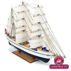 Amazon: Constructo 80570 Modell Schiff Kit Gorch Fock 1: 187 für nur 48,40 Euro statt 79,20 Euro bei Idealo