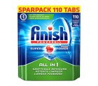 Amazon:  Finish All in 1 Sparpack Regular (110 Tabs) ab 10,49 € [ Idealo 30,08 € ]