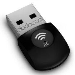 dodocool AC600 USB WLAN Stick 2.4GHz 150Mbps or 5Ghz 433Mbps für 9,99€ statt 13,99€ dank Gutscheincode @ Amazon