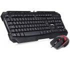 DONZO SI-8059 Gaming Tastatur (QWERTZ) + Gaming Maus mit Gutscheincode für 17,47 € statt 34,95 € @Amazon
