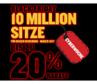 10 Millionen Tickets mit bis zu 20% Rabatt @Ryanair Black-Friday