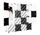 16-Kubus Lagerregal Kleiderschrank für 42.39 EUR auf Amazon mit Gutschein