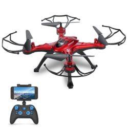 Amazon: GOOLRC T5W Drone mit Wifi FPV Live Übertragung mit Gutschein für nur 41,29 Euro statt 58,99 Euro