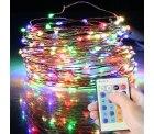 Amazon: Lichterkette 15M 150 LEDs mit Fernbedienung mit Gutschein für nur 10,19 Euro statt 16,99 Euro