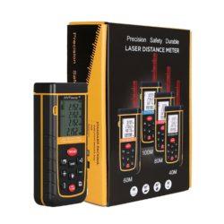 Amazon: MVPower Laser-Entfernungsmesser 0,05-60 m Messbereich mit Gutschein für nur 34,99 Euro statt 42,99 Euro