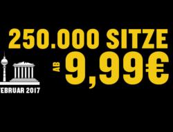 Cyberwochen Sonderangebote @Ryanair 250.000 Sitze ab 9,99 €