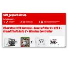 Media Markt: Xbox One S 1TB + Gears of War 4 + ein Spiel nach Wahl + 2. Controller für 349,-€ [ Idealo 416,21 € ]