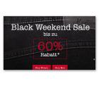 Mustang Jeans: Black Weekend Sale – Bis zu 60% Rabatt + 10 Ero Newsletter-Gutschein