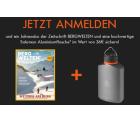 Salomon: Gratis Jahresabo Bergwelten (keine Kündigung nötig) + gratis Aluminiumflasche (Wert 36 Euro)
