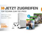 Saturn: MICROSOFT Xbox One S 500GB + Battlefield 1 + Call of Duty Infinite Warfare + GTA V für 299 Euro statt 391,39 Euro bei Idealo
