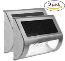 2 Stück HomySnug LED Outdoor Solarlampen mit Gutscheincode für 13,79 € statt 22,99 € @Amazon